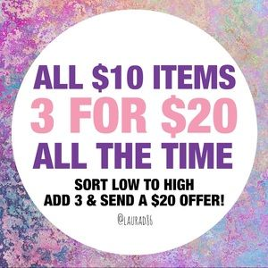 Other - 3 for $20!